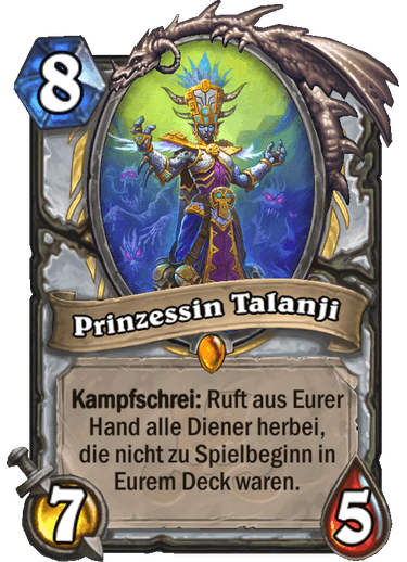 Hearthstone Princess Talanji