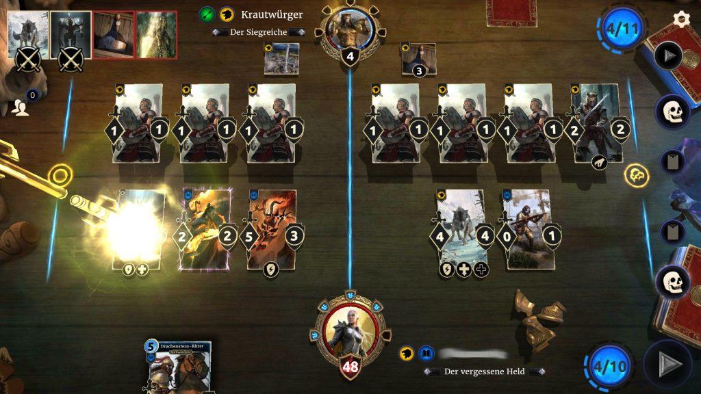 Legends Kartenzerstörung