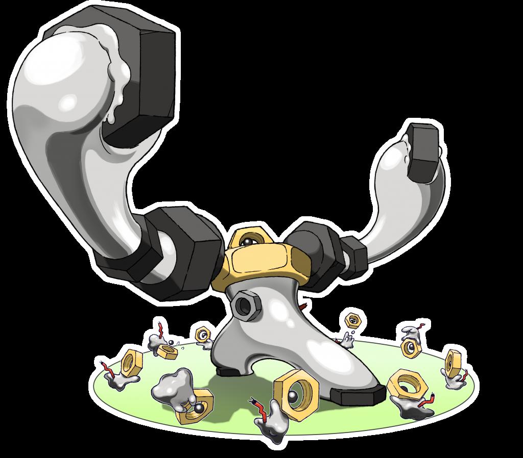 Melmetal Panzerfäuste Pokémon GO 3