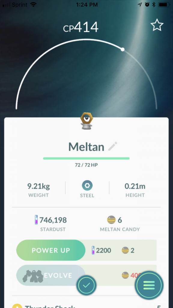 Meltan Pokemon GO 2
