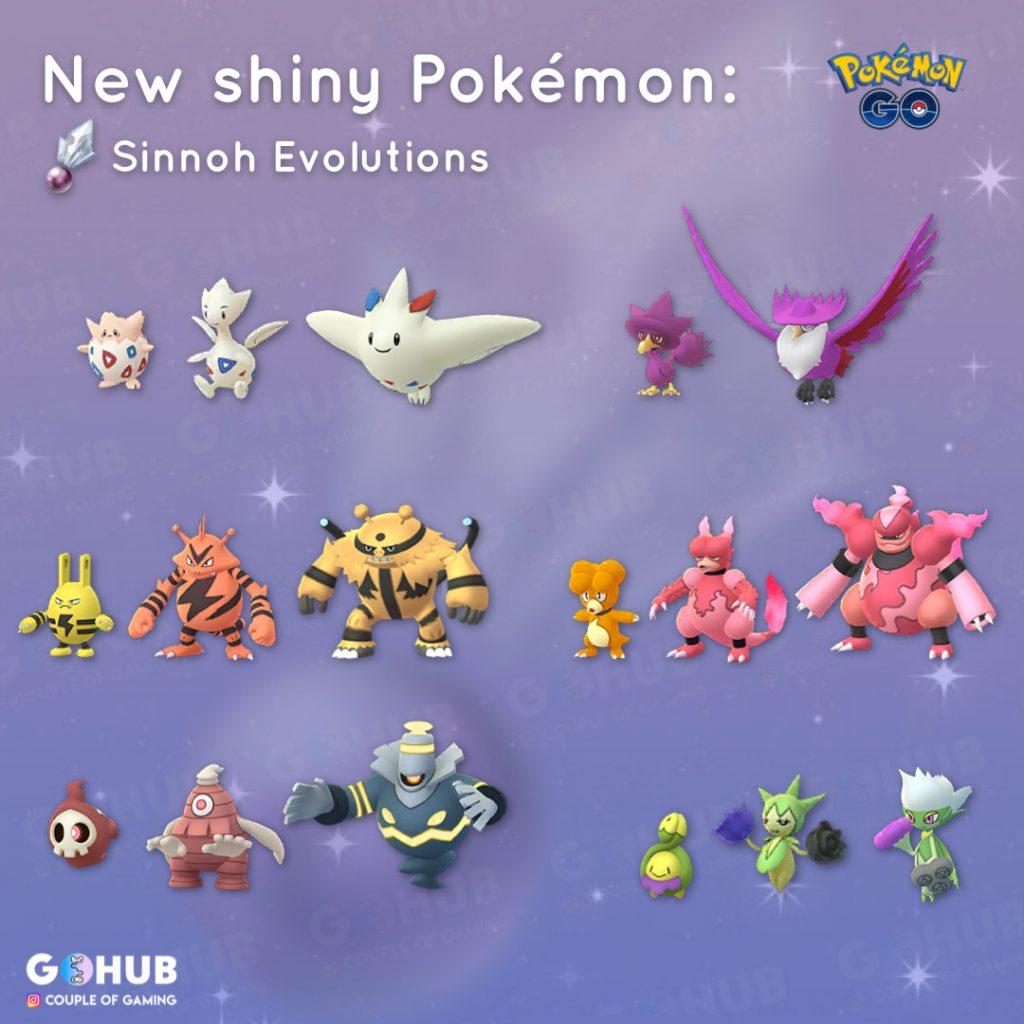 Neue Shinys Pokémon GO