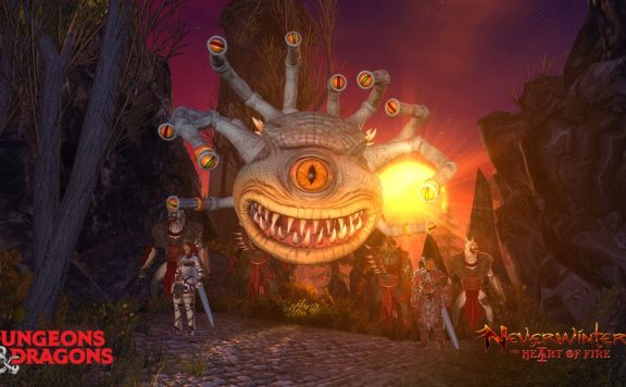Neverwinter Heart of Fire Beholder