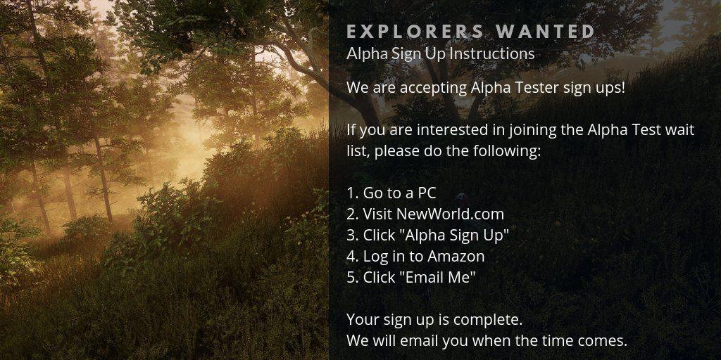 New World Alpha