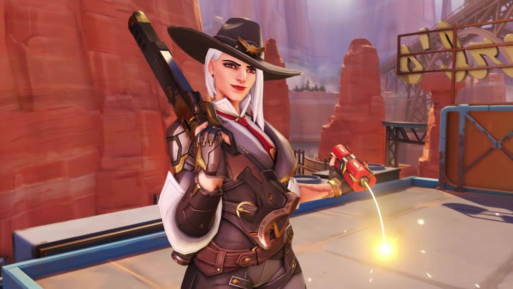 Overwatch Ashe Neuer Held 1