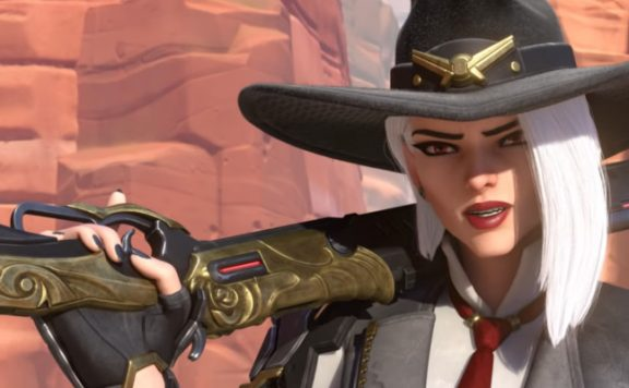 Overwatch Ashe Weapon shouldered title