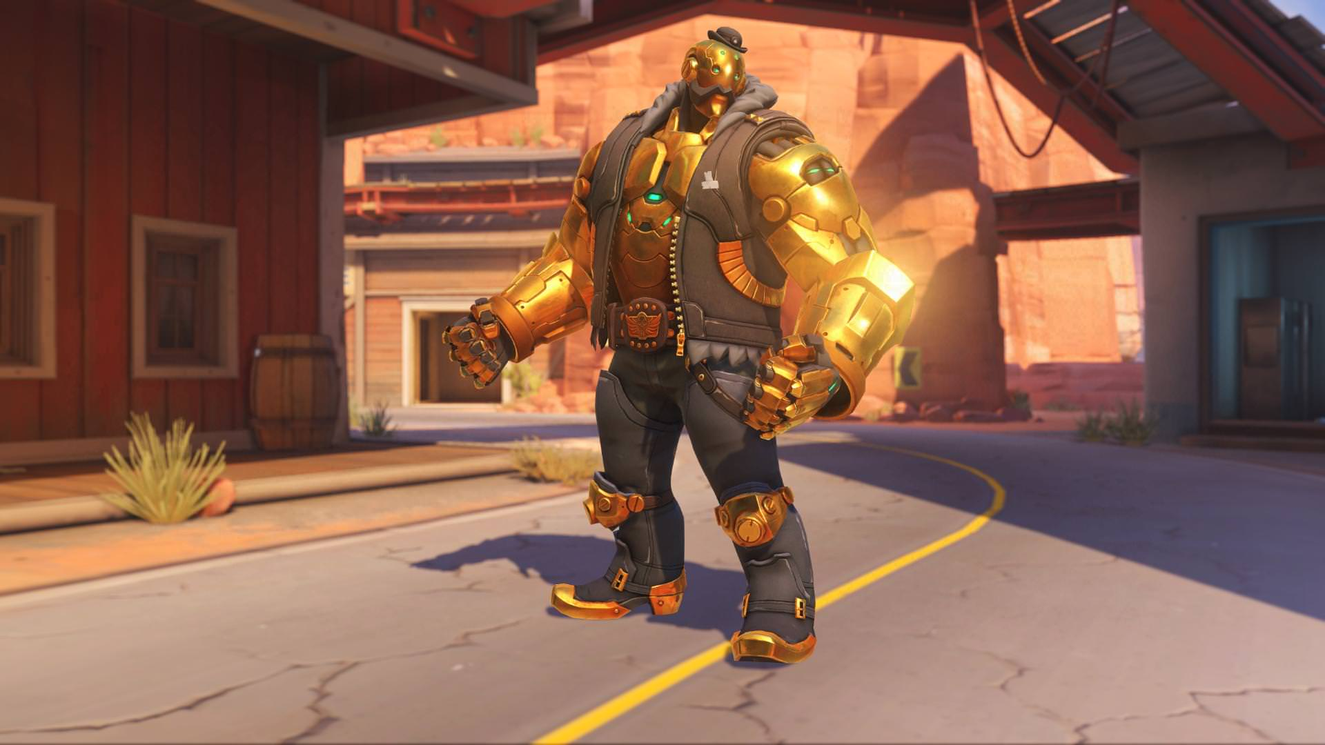 Overwatch Bob Gold 2