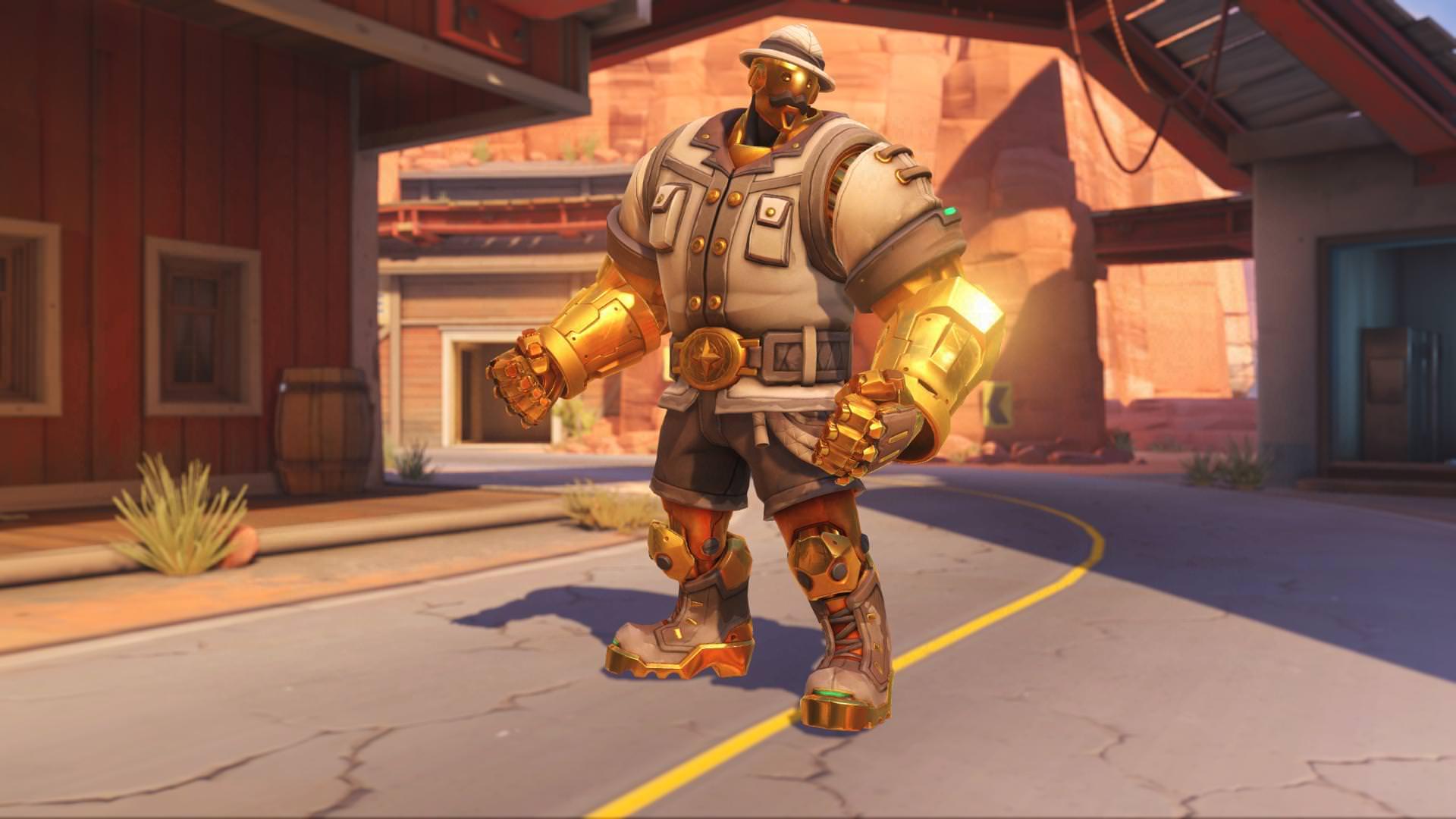 Overwatch Bob Gold 3