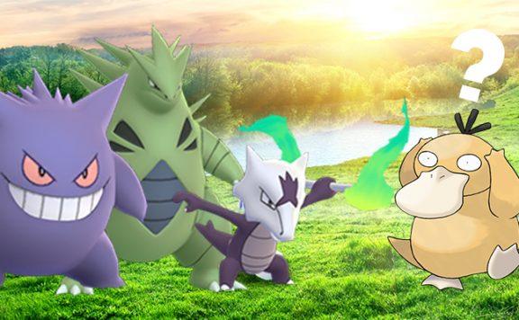 Pokémon GO Raidbosse Titel