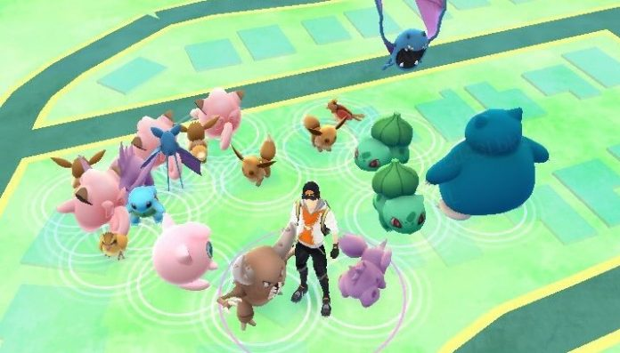 Clusterspawns Pokemon GO