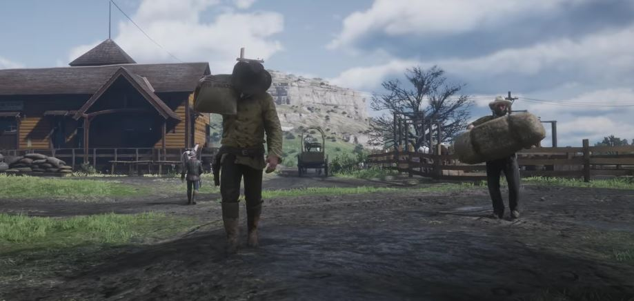 Red Dead Redemption 2 NPC 1