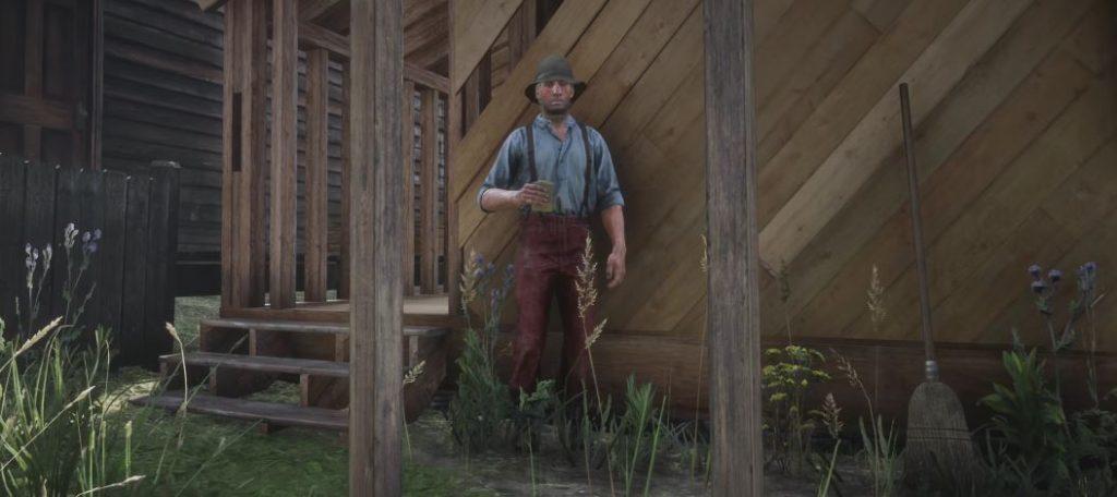 Red Dead Redemption 2 NPC 2