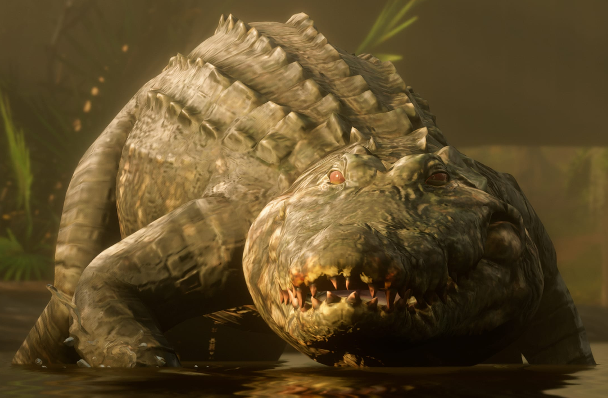 Red Dead Redemption 2 Alligator