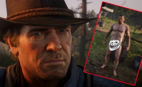 Red Dead Redemption 2 Arthur Nackt Titel