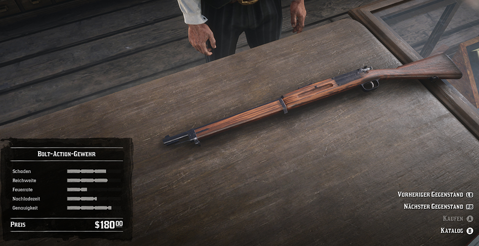 Red Dead Redemption 2 Bolt-Action-Gewehr