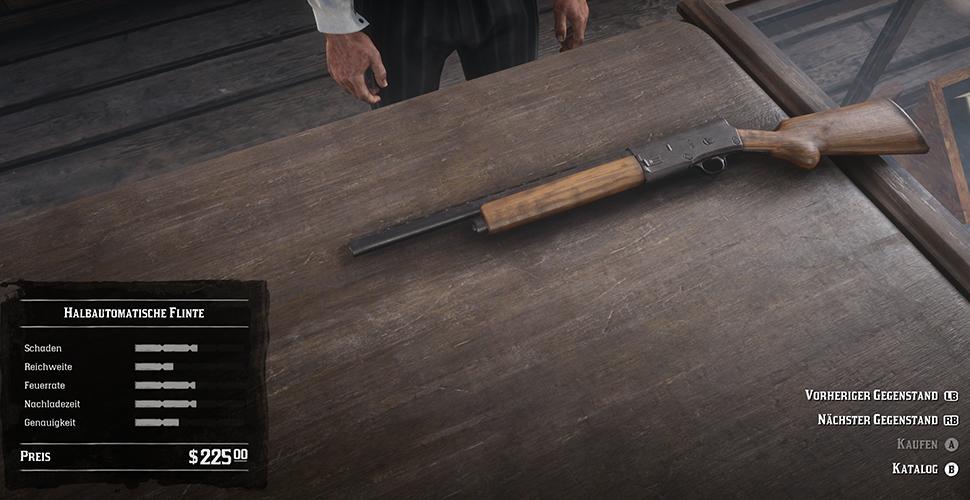 Red Dead Redemption 2 Halbautomatische Flinte