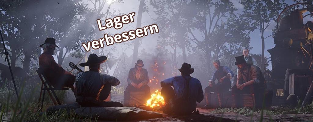 Darum solltet Ihr das Lager in Red Dead Redemption 2 verbessern