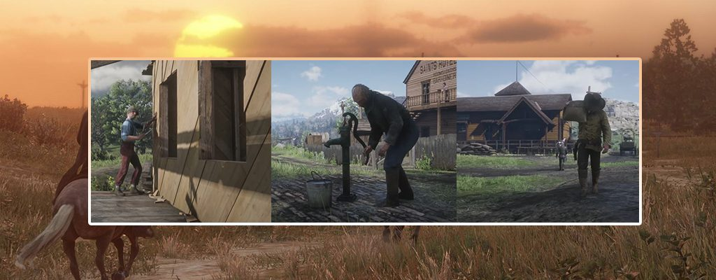 Red Dead Redemption 2 bauen