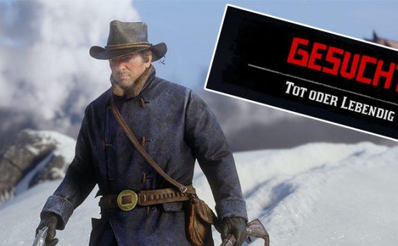 Red Dead Redemption 2 Tot oder lebendig Titel