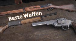 Red Dead Redemption 2 beste Waffen Titel2