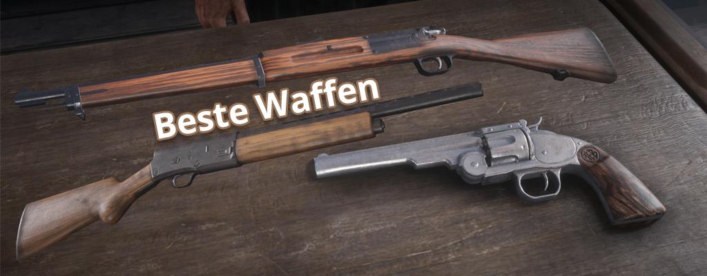 Das sind die besten Waffen in Red Dead Redemption 2 und Online
