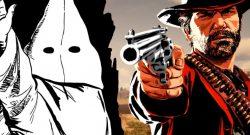Red Dead Redemption KKK Arthur title