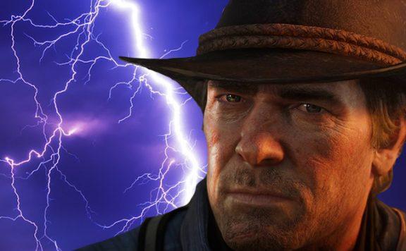 Red Dead redemption 2 Arthur Blitz Titel