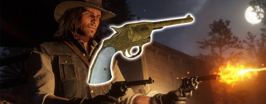 Red Dead redemption 2 Double Action Revolver