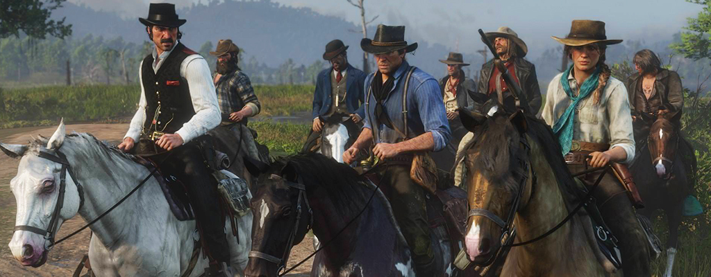Red Dead redemption 2 Pferde