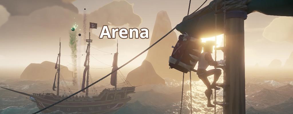 Darum sehen die Piraten von Sea of Thieves die neue Arena skeptisch
