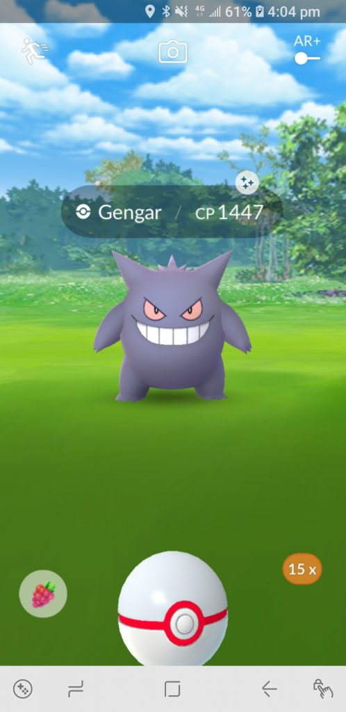 Shiny Gengar Pokemon GO 1