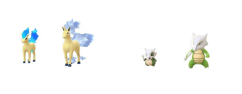 Shiny Ponita Tragosso Pokemon GO