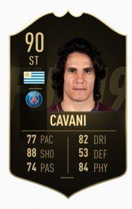 TOTW 9 Cavani