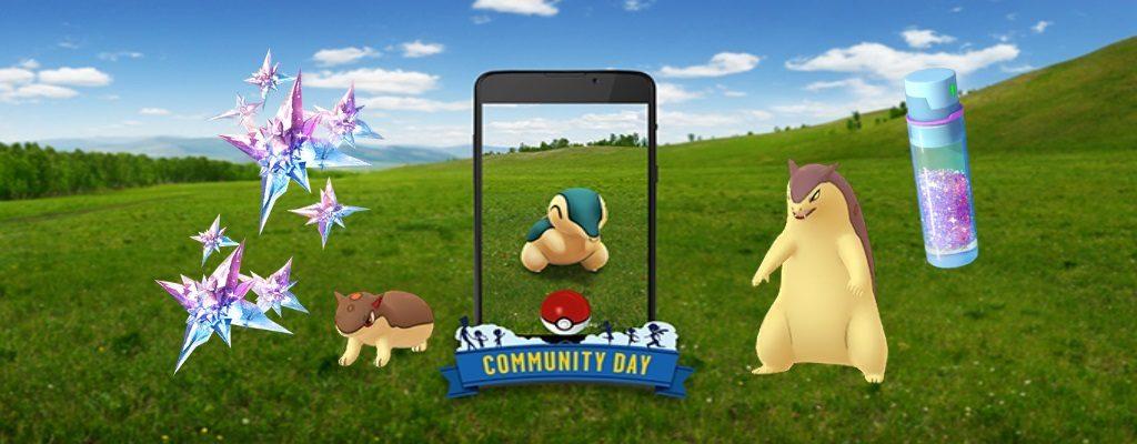 Titelbild Community Day Feurigel Pokémon GO