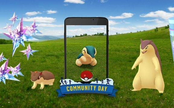 Titelbild Community Day Feurigel Pokémon GO