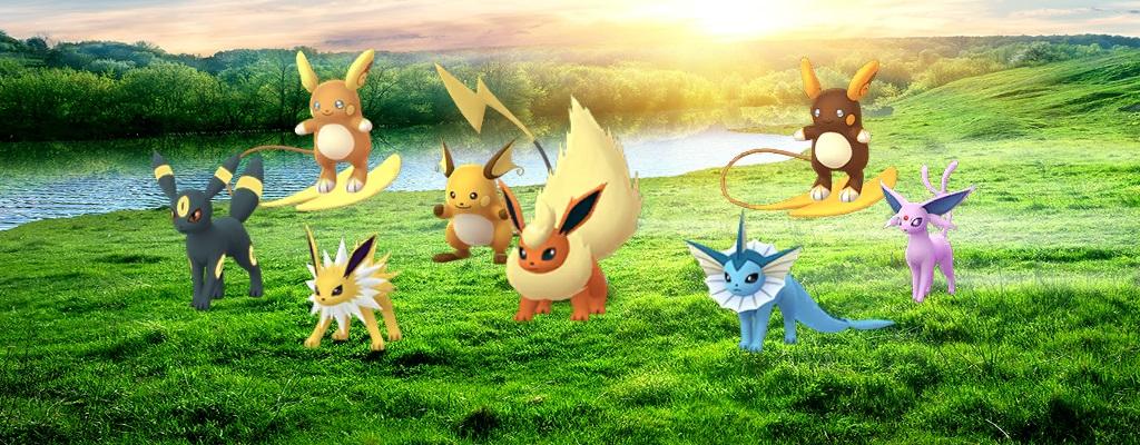 In Pokémon GO gibt's jetzt Evoli Raid-Bosse und neues Shiny
