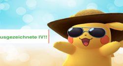 Titelbild IV Pokémon GO