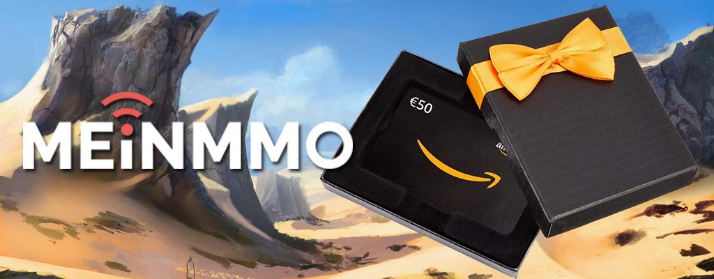 Gewinnt mit eurem User-Review einen der 50€ Amazon-Gutscheine