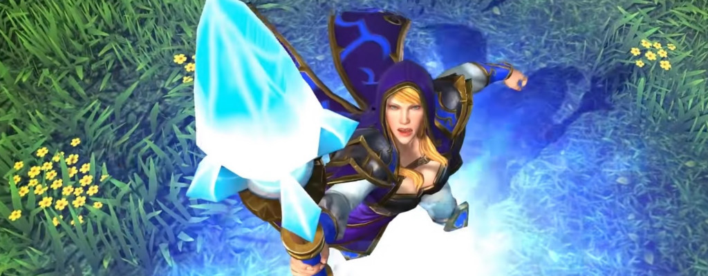 Warcraft 3 Reforged Jaina title