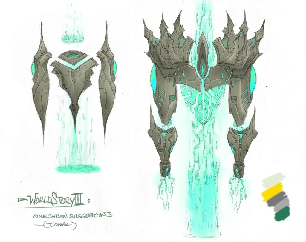 WildStar Omechron Artwork
