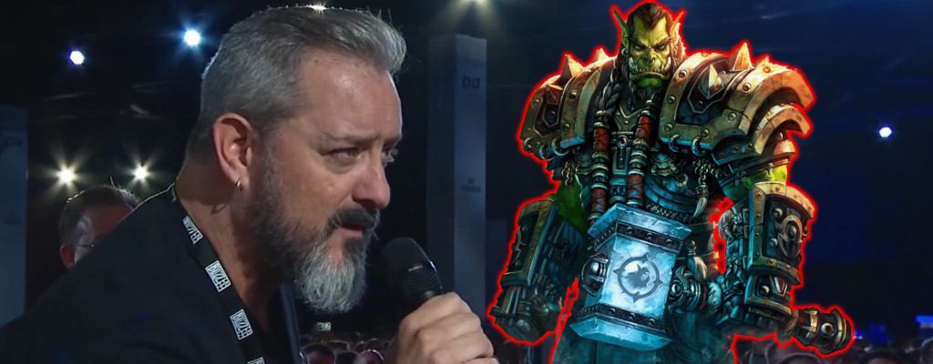 WoW Chris Metzen Thrall title
