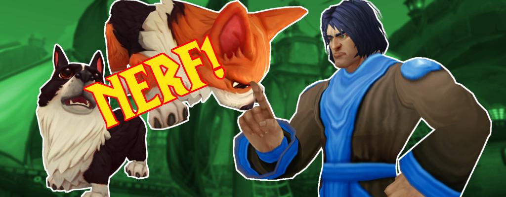 """""""Spaß entdeckt!"""" – World of Warcraft nerft die Corgi-Brille"""