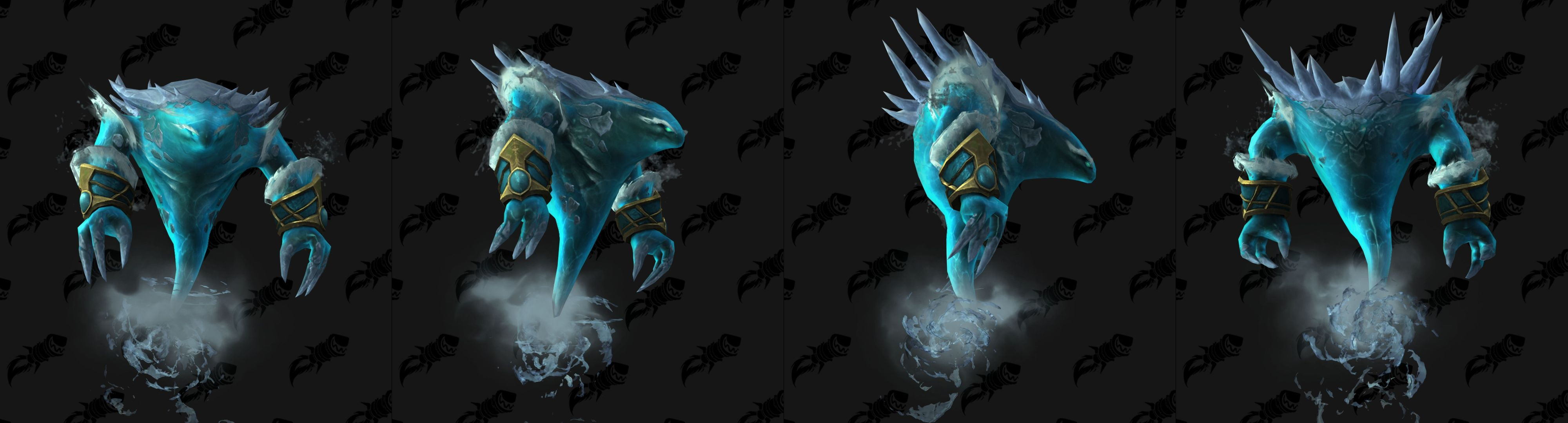 WoW Glacial Elemental Mount Jaina