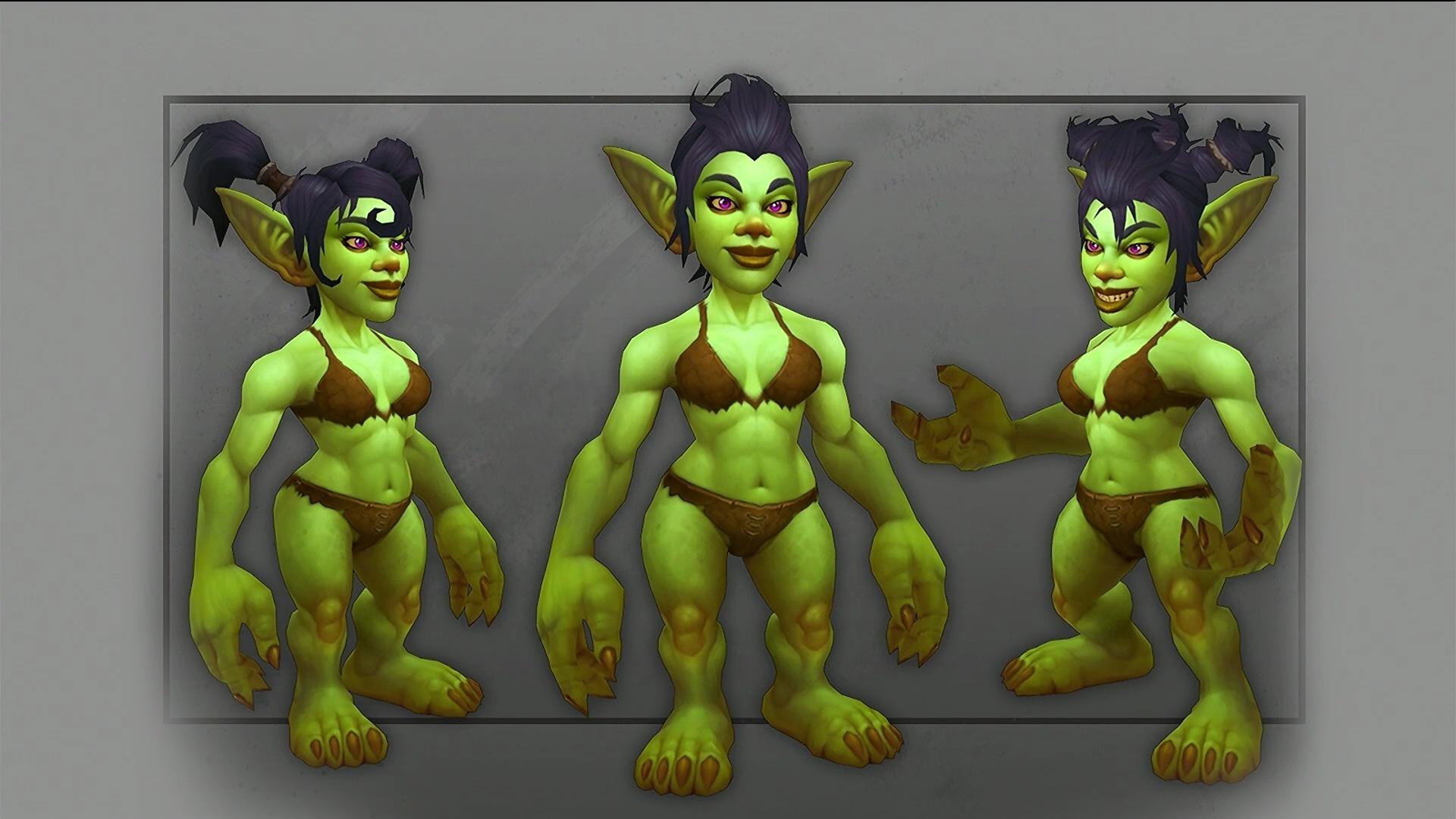WoW Goblin Female New Model 2
