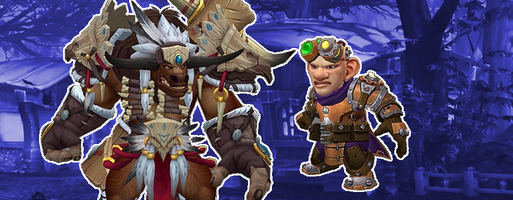 WoW Heritage Gnome Tauren title