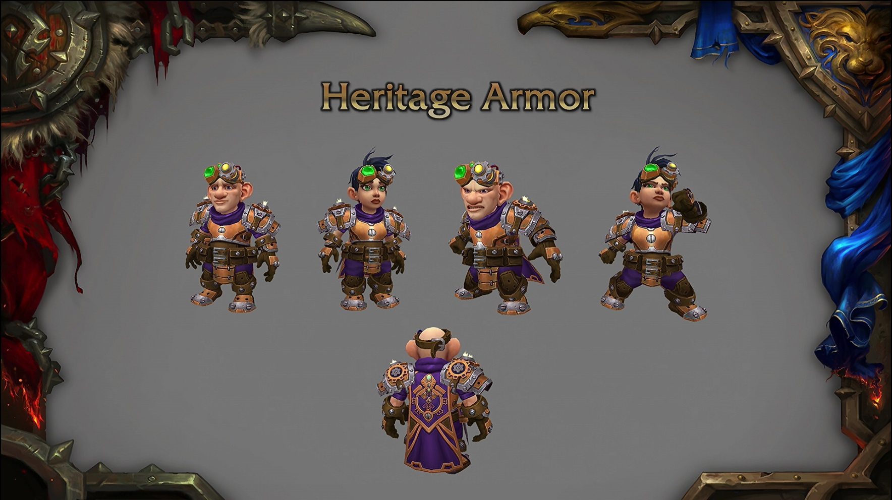 WoW Patch 82 Heritage Gnomes