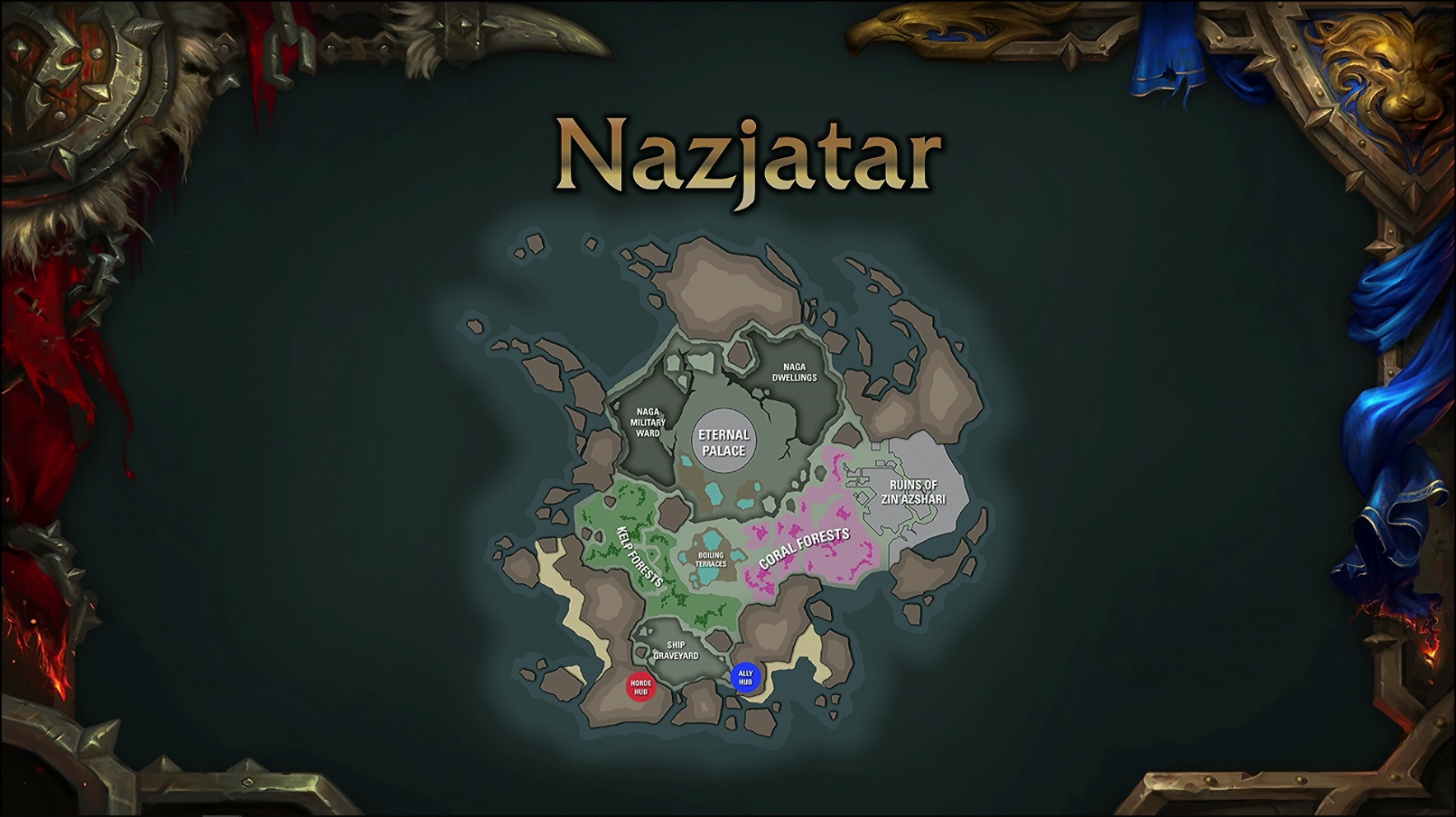 WoW Patch 82 Najzatar