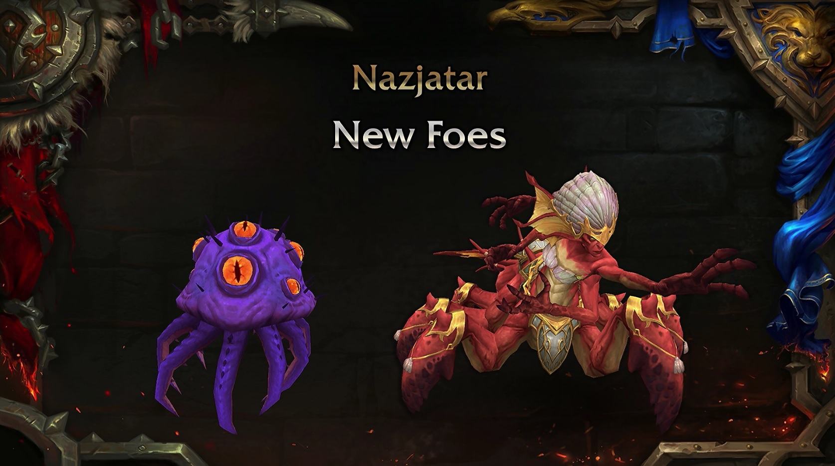 WoW Patch 82 Nazjatar New Foes