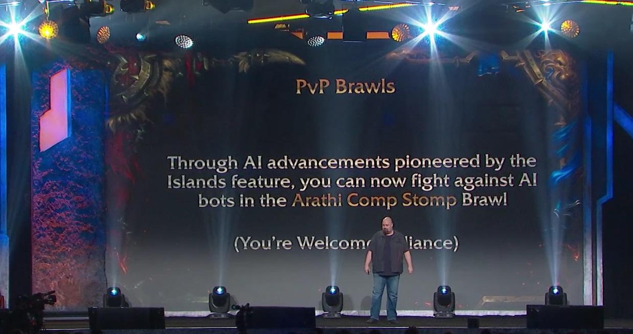 WoW PvP Arathi gegen Bots 2