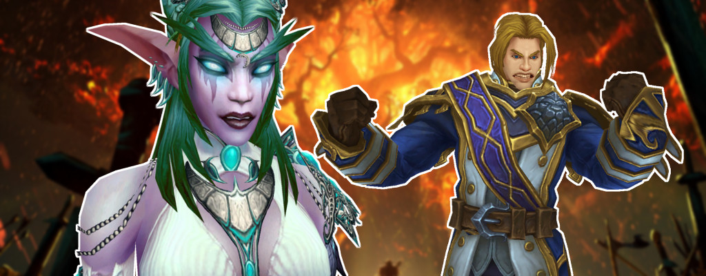 WoW Tyrande Anduin angry title