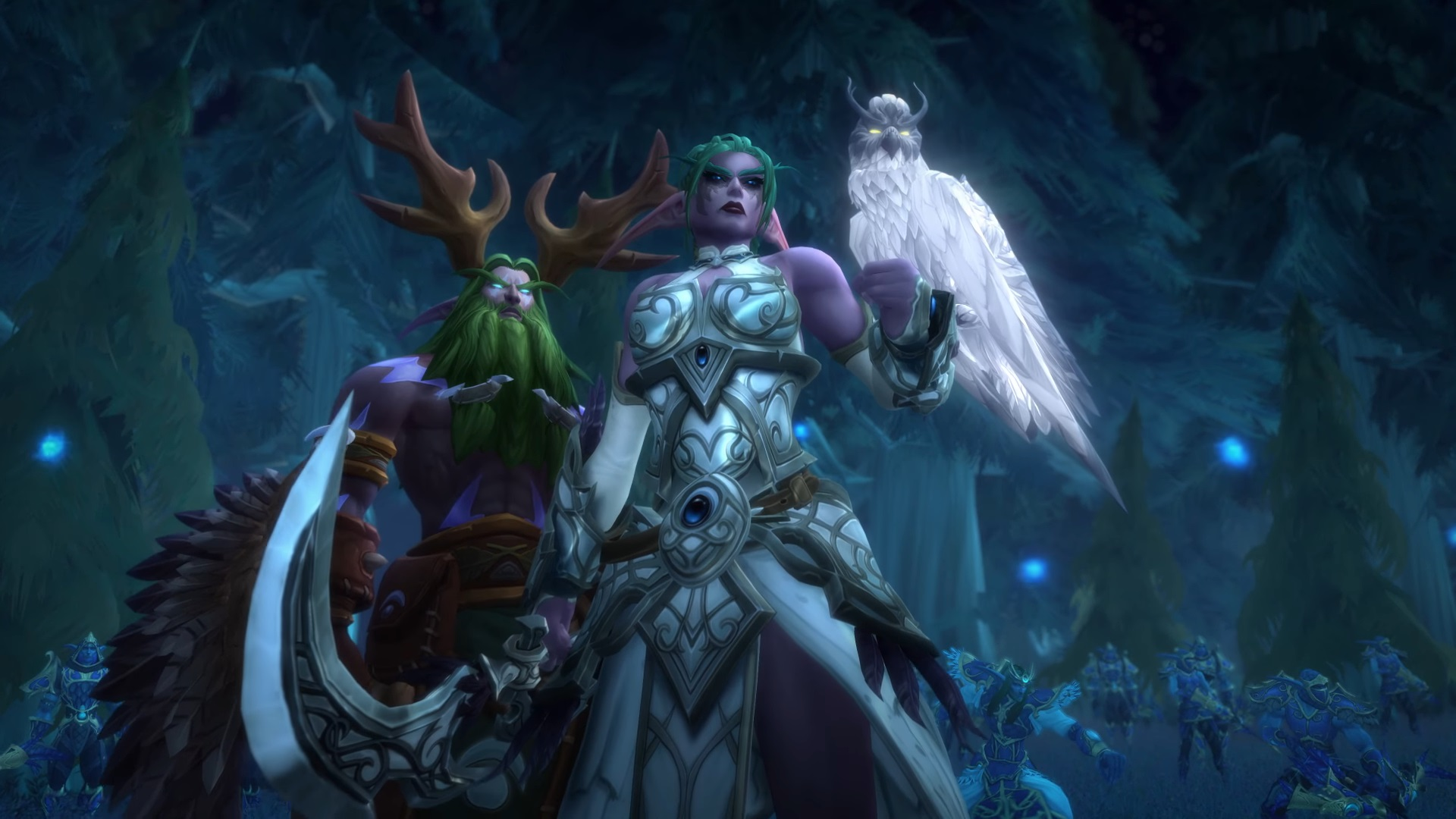 WoW Tyrande Malfurion Angry Night elves